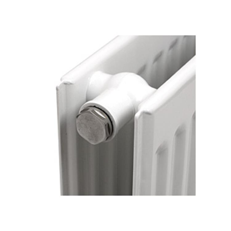 "Plieger radiatorstop blind 1/2""bu"