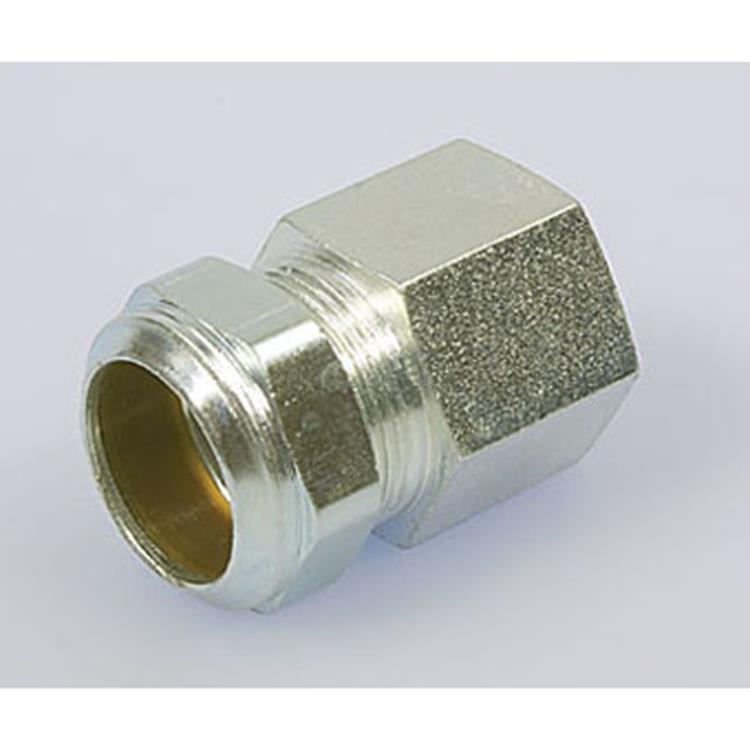 Plieger klem cv schroefbus 1/2 binnen x 15mm