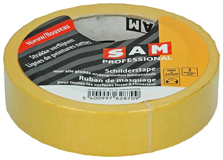 SAM Gold tape 25mmX50m