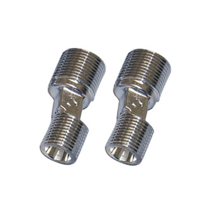 """Plieger S-koppeling zonder rozet met fiberring per paar 1/2""""x3/8"""""""