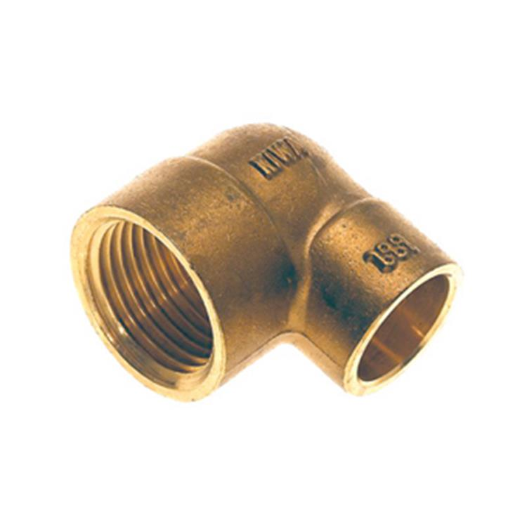 Plieger knie 1/2 binnen langedraadx15mm