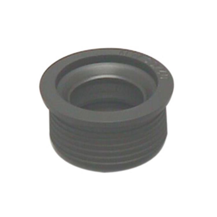 Plieger overgangsstuk rubber 40x32mm