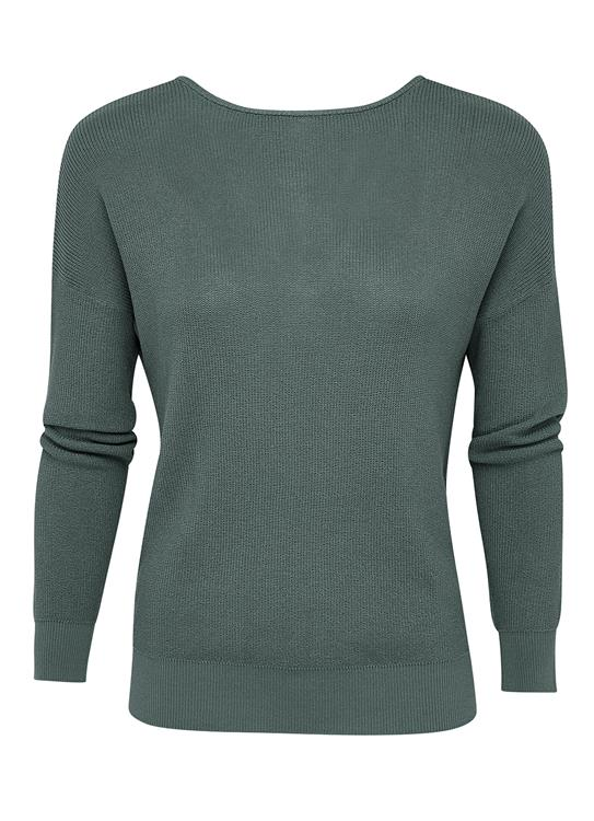 YAYA Sweater Dim Green