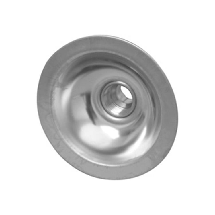 "Plieger RVS gevelkom 1/2""binnenx15mm soldeer"