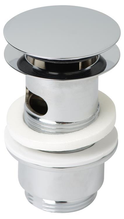 "Plieger afvoerplug met drukafsluiting 5/4"" Ø65x63mm"
