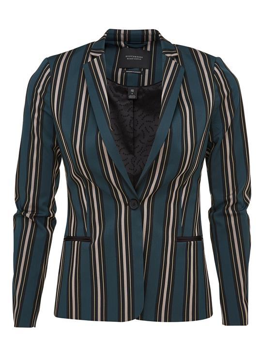 Maison Scotch Blazer Zip Detail