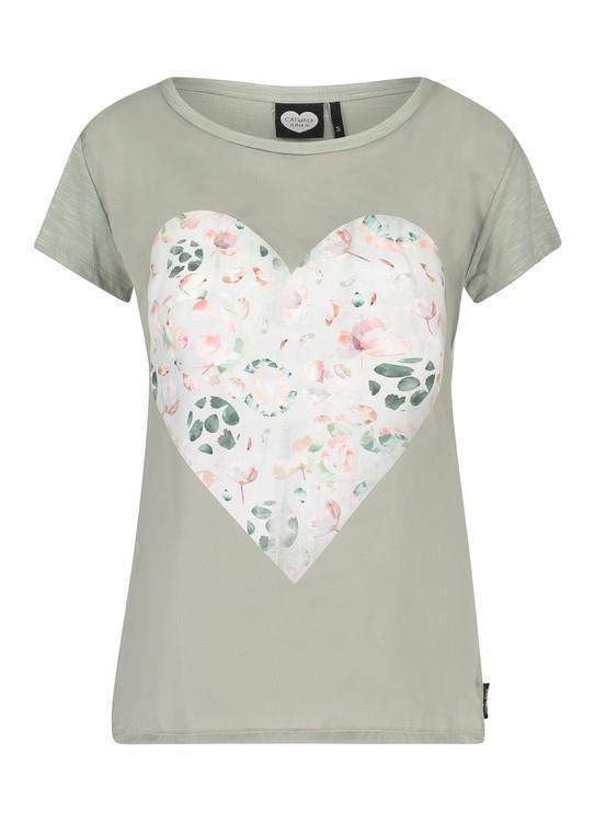 Catwalk Junkie T-Shirt Floral Leaf