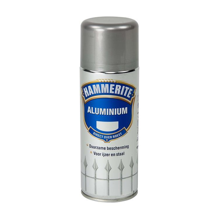 Hammerite Metaallak Aluminium 400 Ml