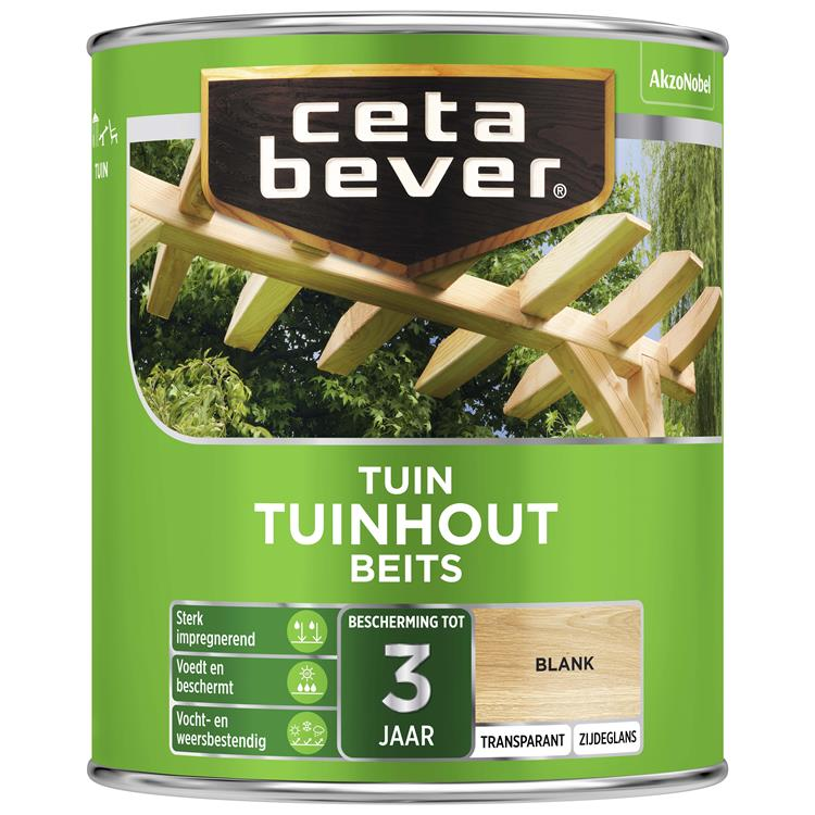 Cetabever Transparant Tuinhout Beits Blank 750 Ml