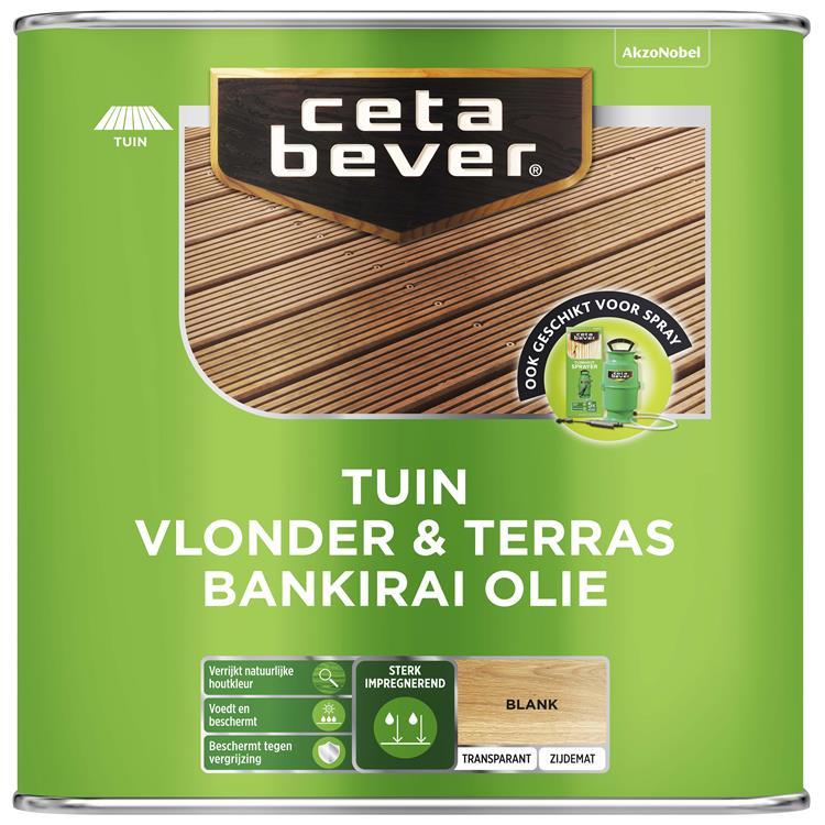 Cetabever Vlonder- Terrasolie Bankirai Uv Pr Kll 2,5 L