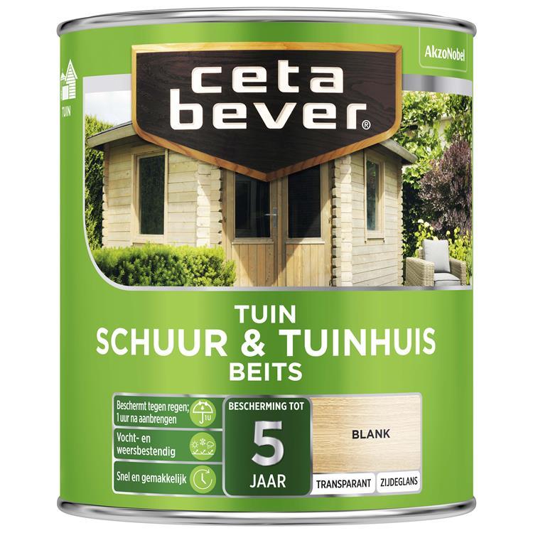 Cetabever Transparant Schuur- & Tuinhuis Beits 003 Blank 750 Ml