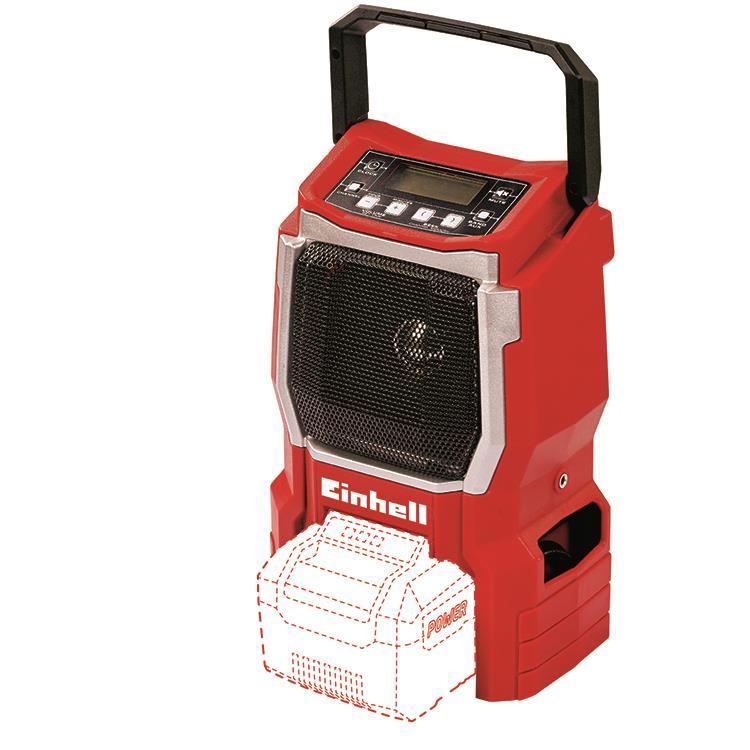 Einhell Power X-Change accu radio  TE-CR 18 Li Solo excl. accu