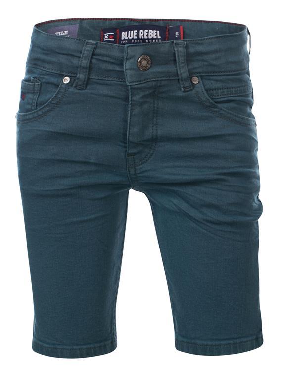 Blue Rebel Tile - shorts - dark storm - dudes
