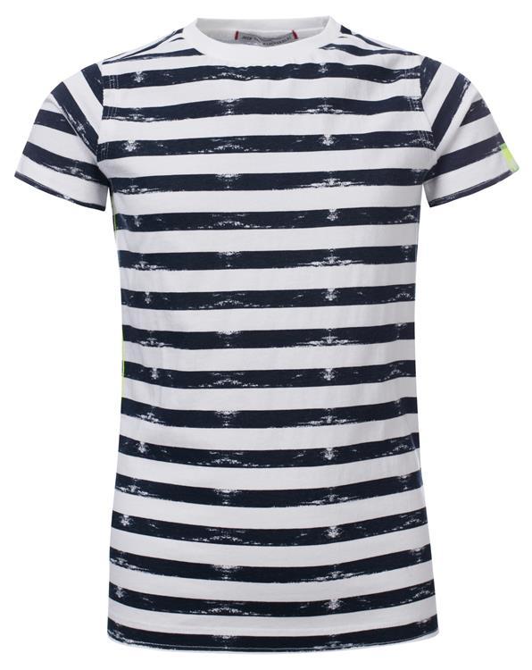 Blue Rebel - T-shirt stripes - white - dudes