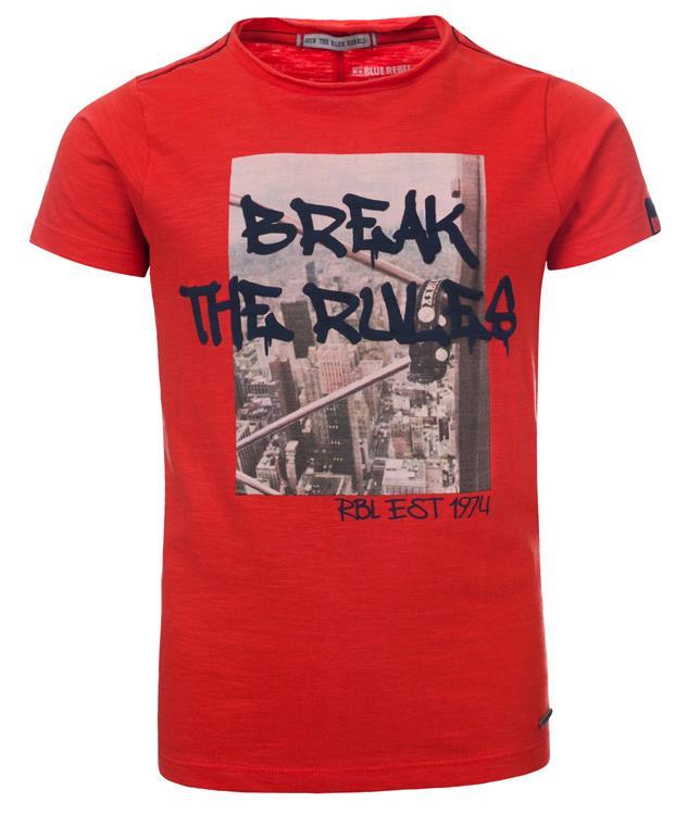 Blue Rebel - T-shirt - flame - dudes