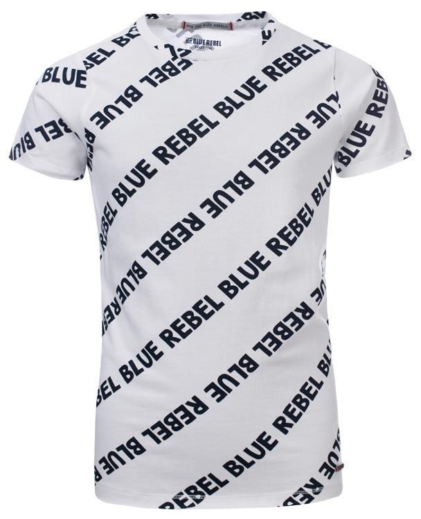 Blue Rebel - T-shirt - Navy - dudes