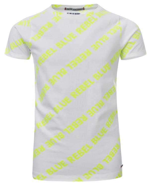 Blue Rebel - T-shirt - neon - dudes