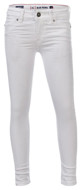 Blue Rebel Gold - super skinny fit - white - betties