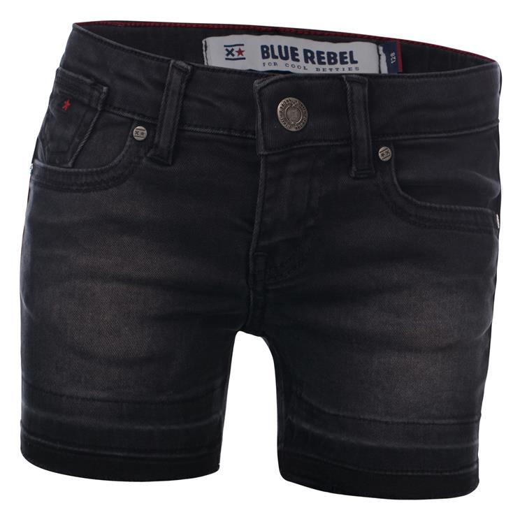 Blue Rebel Gold - short - black wash - betties