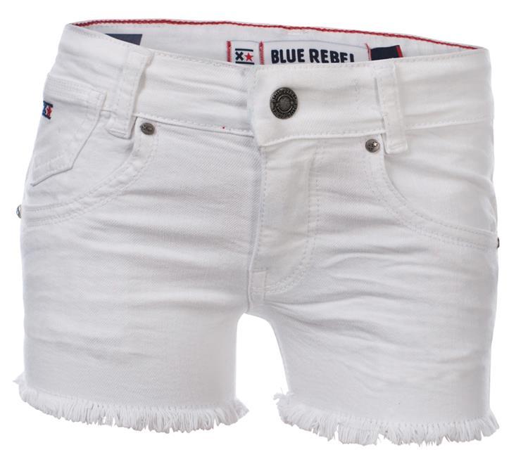 Blue Rebel Gold - short - white - betties