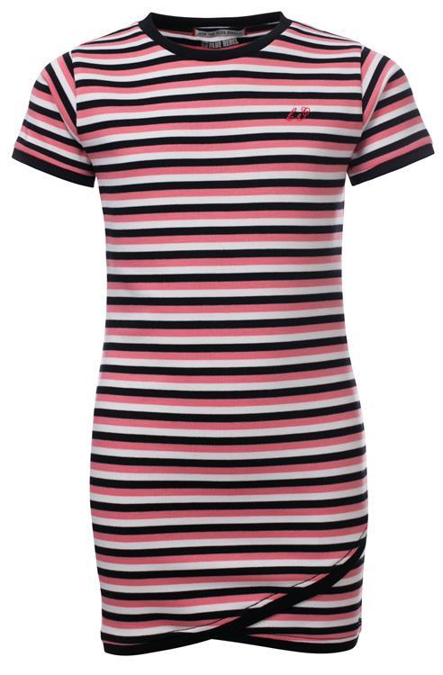 Blue Rebel - dress stripe - bubblegum - betties