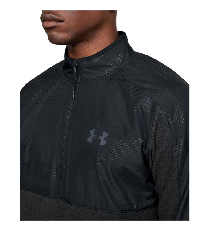 Under Armour CGI 1/2 Zip-BLK Sweater