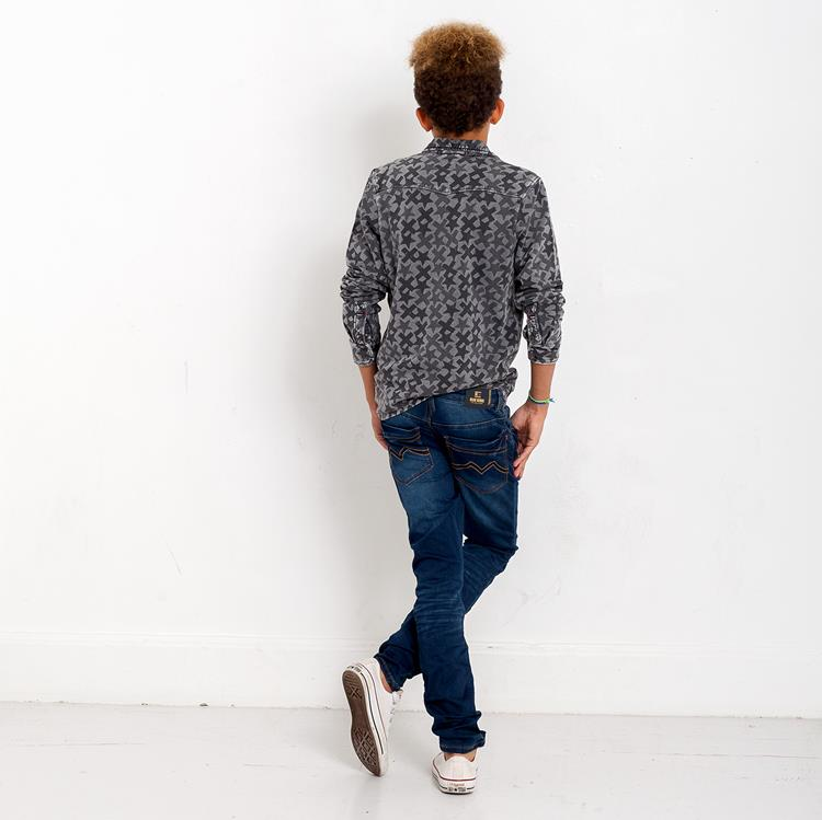 Blue Rebel MINOR - Crea Wash - skinny fit jeans - dudes