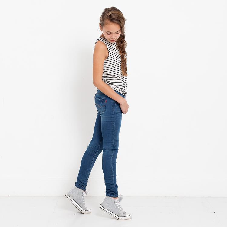 Blue Rebel CASTLE - Civil Wash - ultra skinny fit jeans - betties