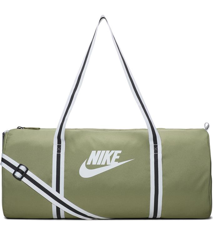 NIKE HERITAGE DUFFLE BAG,DUSTY OLIV