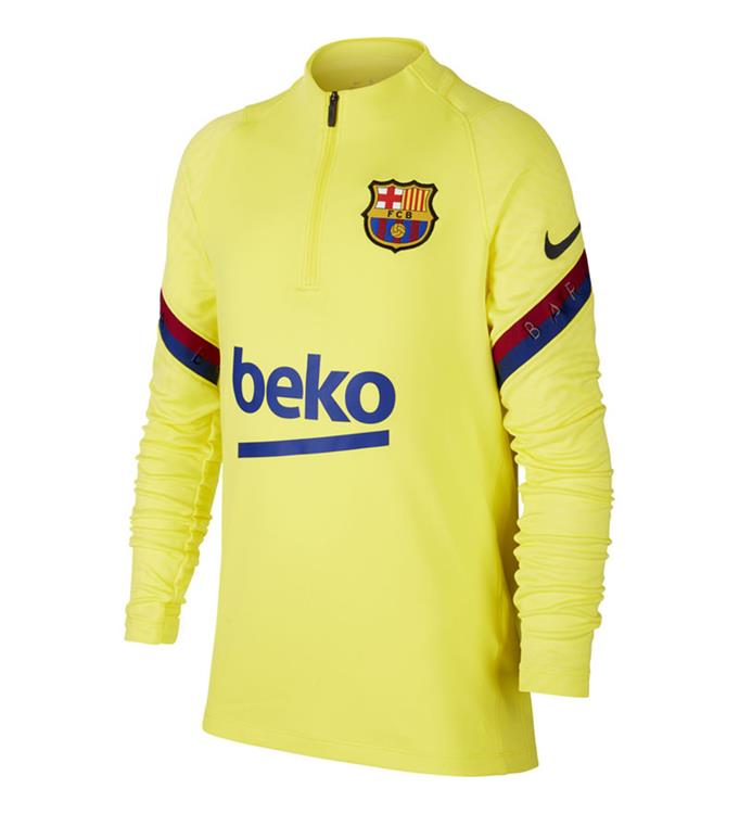 Nike FC Barcelona Dri-FIT Strike Trainingstop 2019/2020 Y