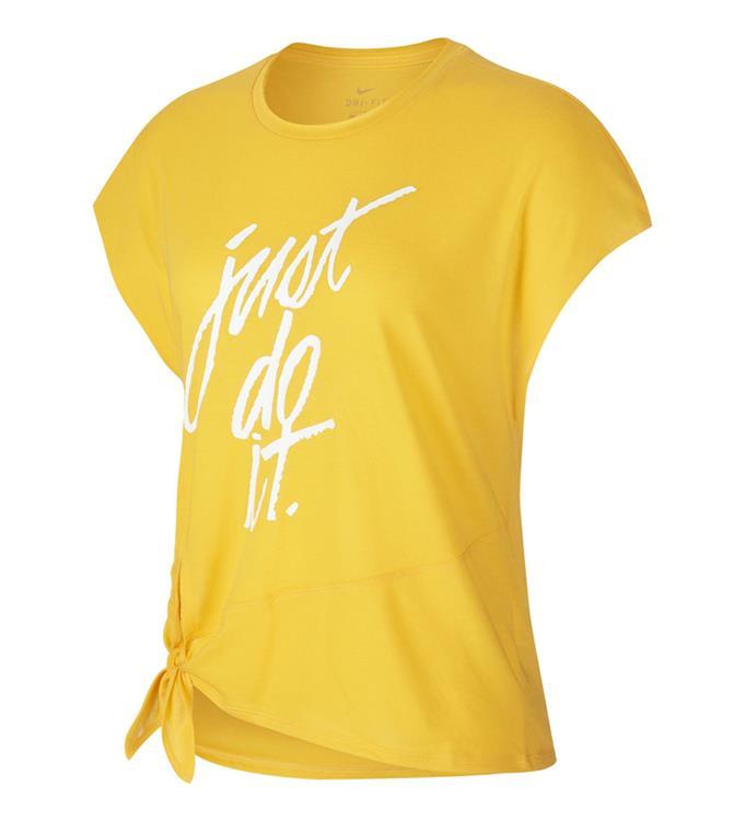 Nike W NK DRY SIDE TIE SS TP GRX Trainingsshirt