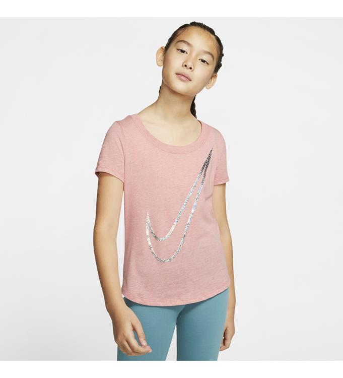 Nike G NSW TEE SCOOP SHINE SWOOSH T-Shirt