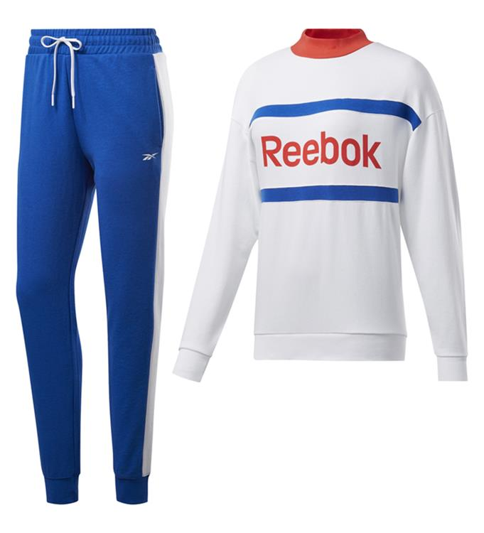 Reebok TE Linear Logo Crew TS Hoody