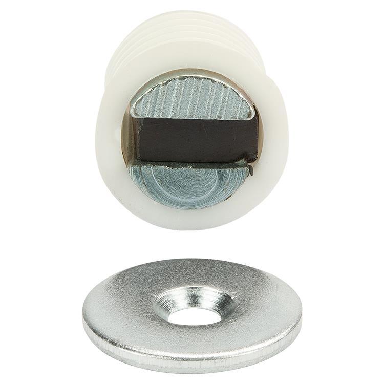 i-Fix Magneetsnapper inboor 3kg per 2 wit