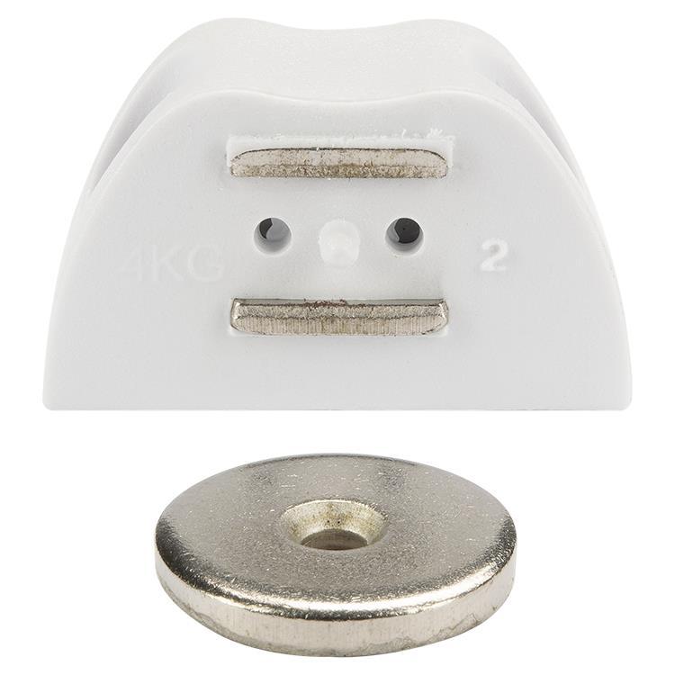 i-Fix Magneetsnapper hoek per 2 wit