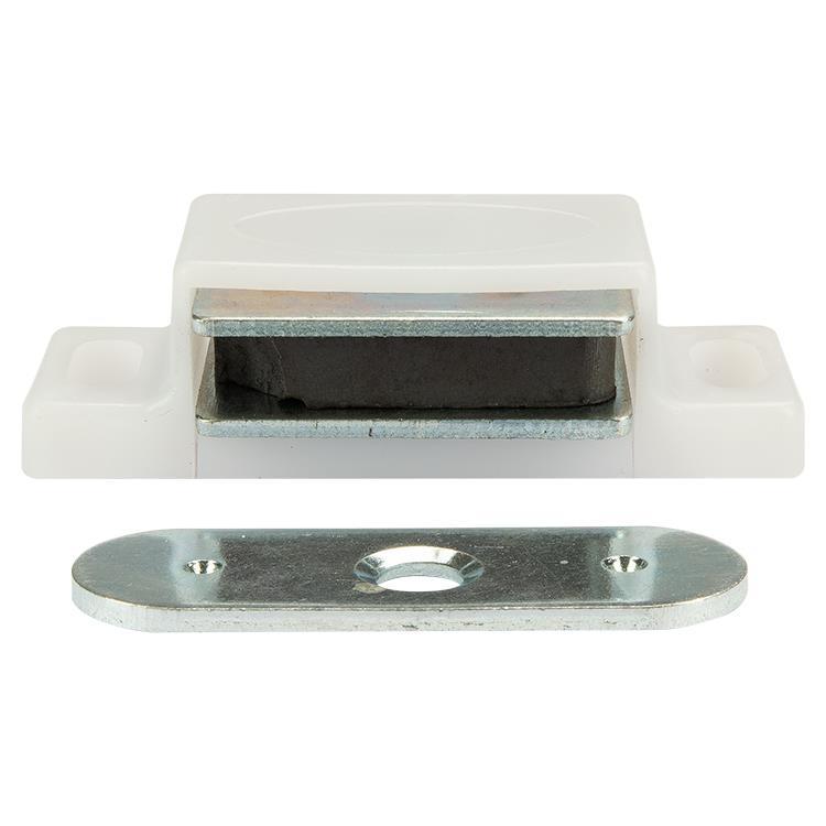 i-Fix Magneetsnapper 4kg per 2 wit metalen voorplaat