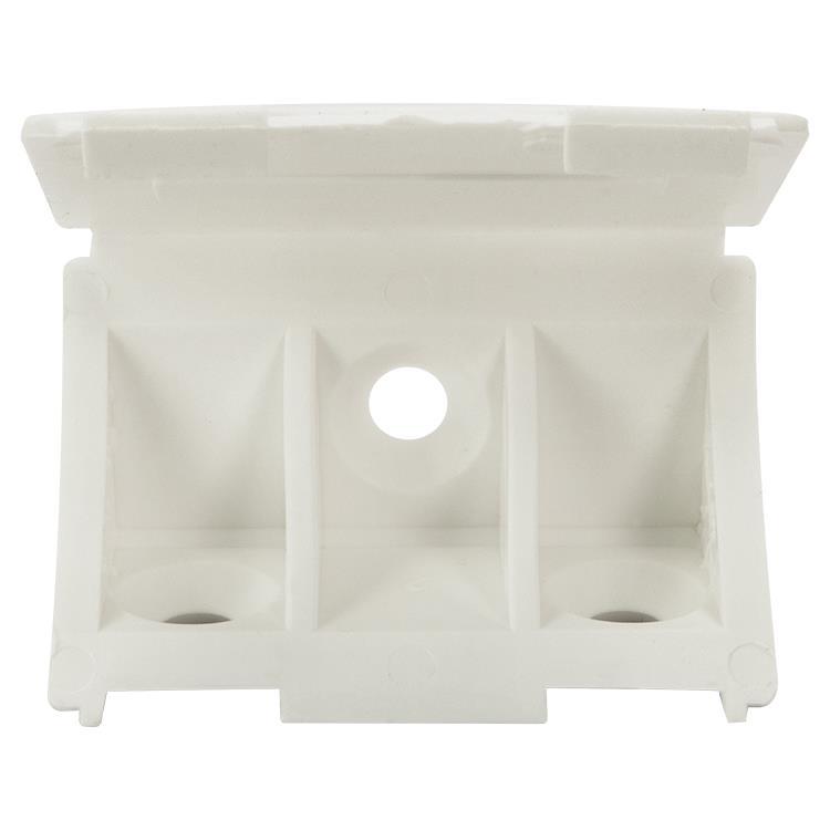 i-Fix Hoekpaneelverbinder per 12 kunststof wit