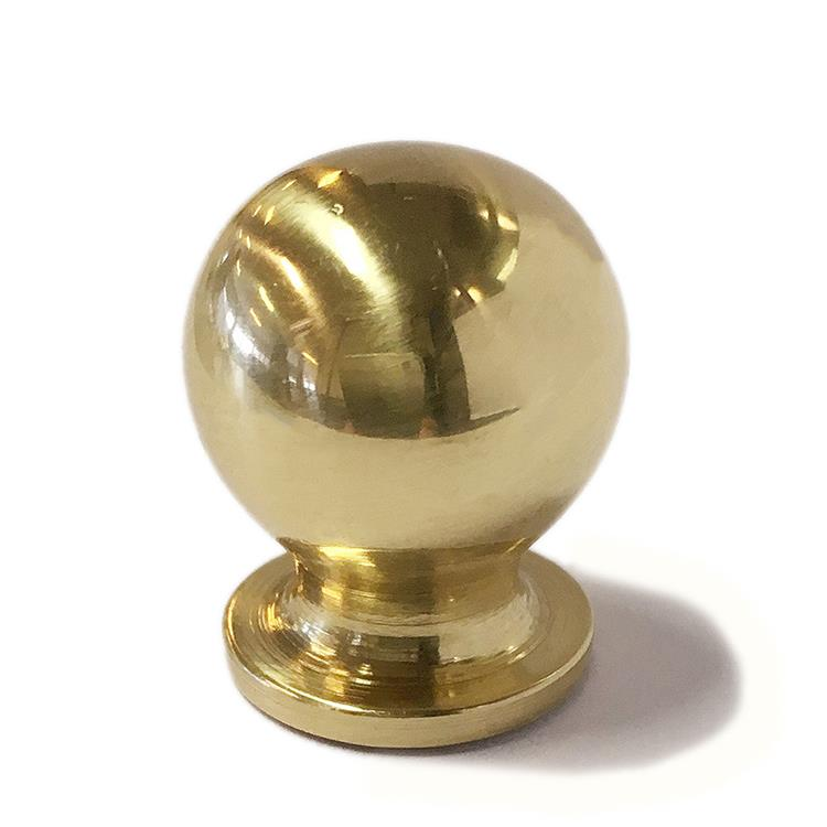 Avenue Knop bombe messing 15mm