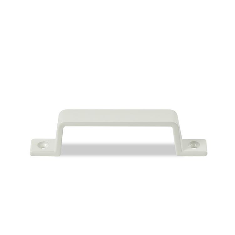 Avenue Greep leen aluminium-wit 110mm