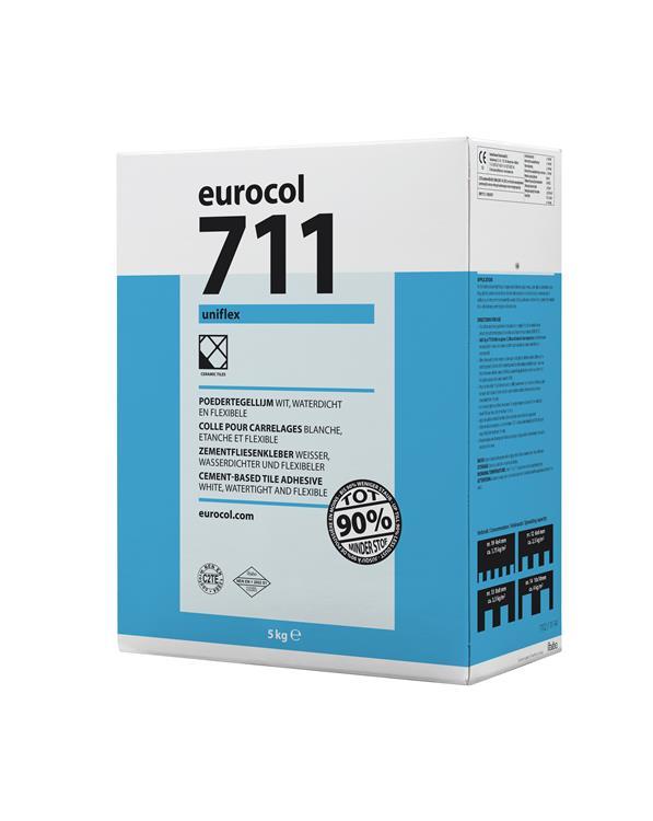 Eurocol Po tegellijm uniflex wit 711 5 kg