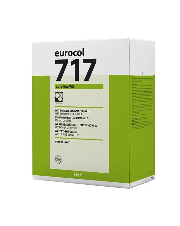 Eurocol Eurofine Wd 717 Zilvergrijs 5KG