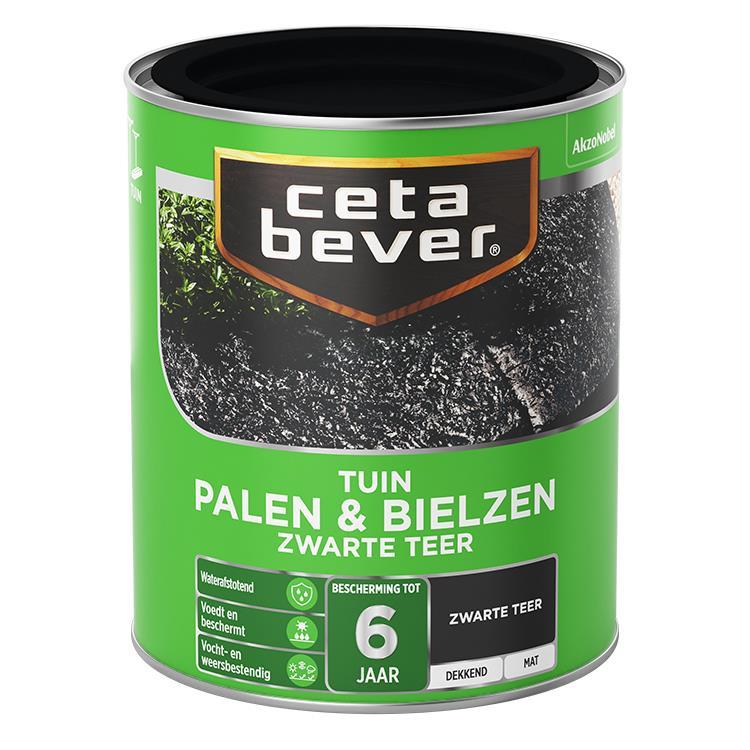 Cetabever Palen & Bielzen Zwarte Teer 750Ml