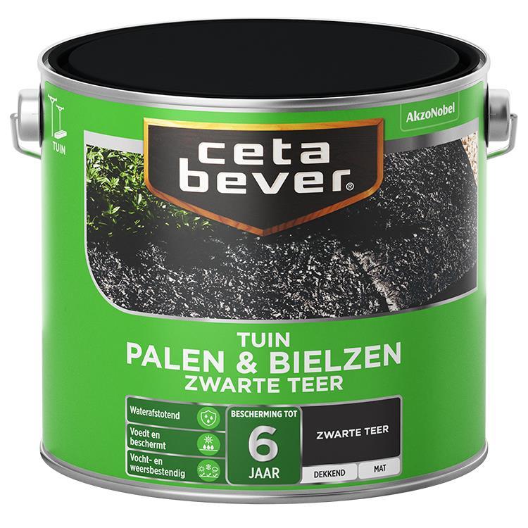 Cetabever Palen & Bielzen Zwarte Teer 2,5L