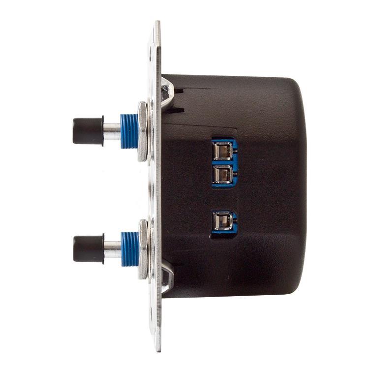Duo RC Inbouwdimmer 230V