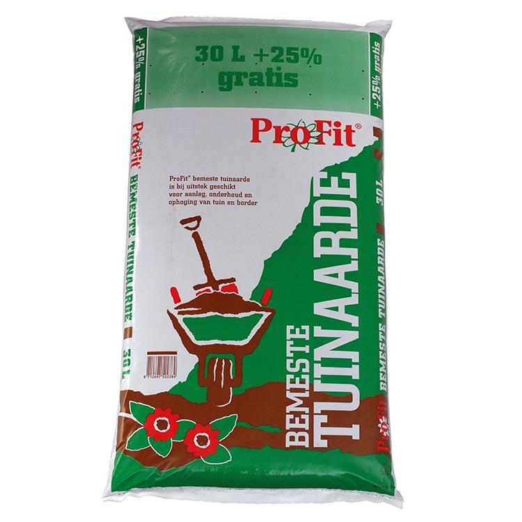 Profit bemeste Tuinaarde 30 liter + 25% extra  (37,5 liter)