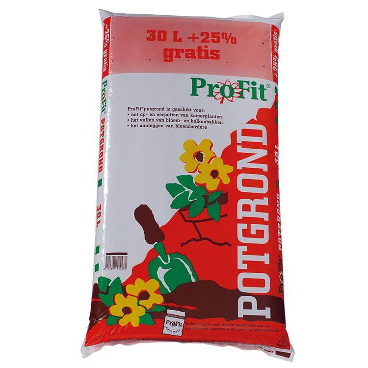 ProFit potgrond 30 liter + 25% gratis (37.5 liter)