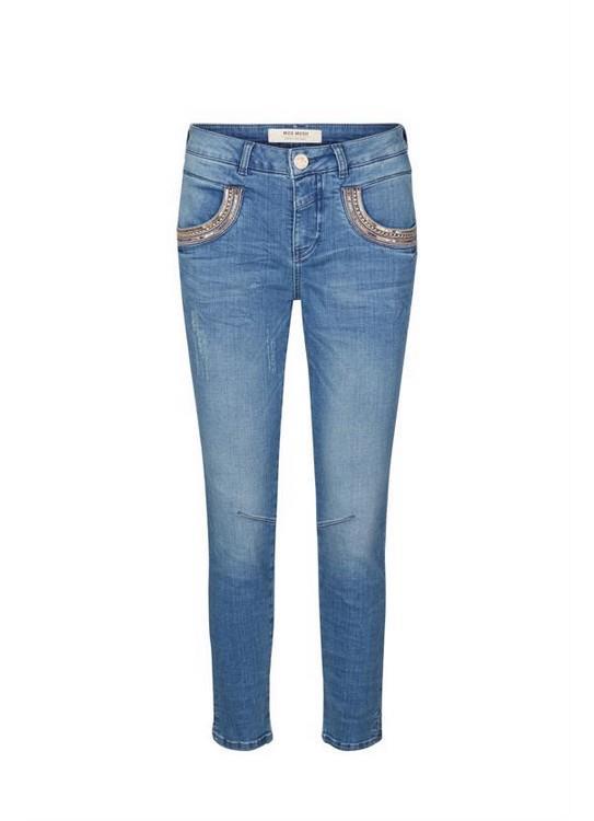 Mos Mosh Jeans Naomi Shine Split