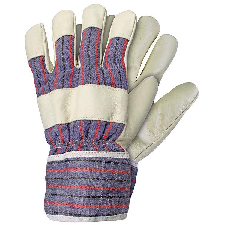 Werkhandschoen varkensplitleer maat XL