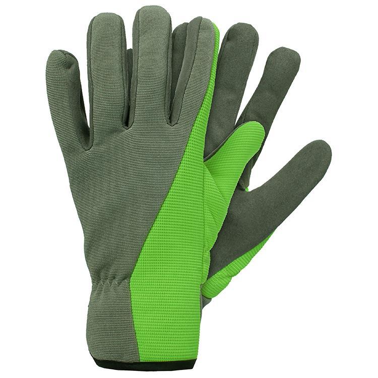 Werkhandschoenen micro fiber maat L