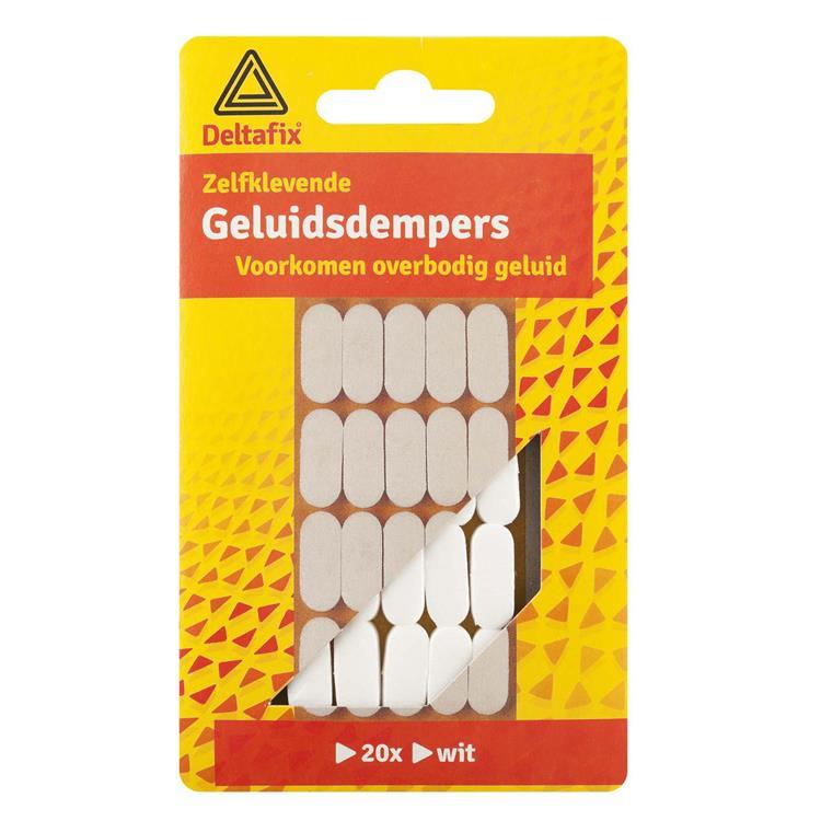 Deltafix Geluiddempers wit